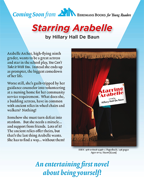 Starring Arabelle Flyer by Hillary Hall De Baun