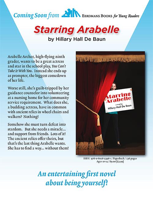Starring Arabelle Flyer by Hillary Hall De Baun